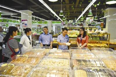 南谯专项检查月饼市场